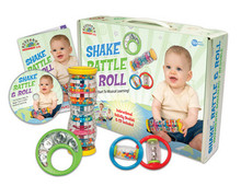 Shake, Rattle, and Roll Toddler Music Set