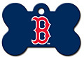 ID Tag for Pets - Boston Red Sox - Bone Shape