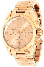Michael Kors MK5503 Bradshaw Chronograph Women's Rosegold Steel Watch