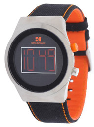 Hugo Boss Orange Digital Nylon Band Men's Watch 1512759