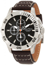 Nautica N18643G  BFD 101 Men's Brown Chronograph Watch