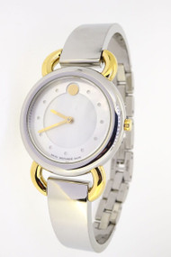 Movado 0606552 Linio Two-Toned Pearl Dial Women's Dress Watch
