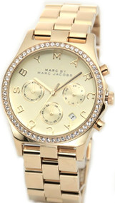 Marc by Marc Jacobs MBM3105 Henry Gold-tone Chronograph Women's Watch