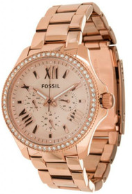 Fossil AM4483 Cecile Multifunction Women's Rose Gold Watch