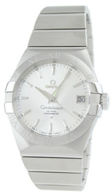 Omega Constellation Co-Axial 38MM Silver Men Watch 123.10.38.21.02.001