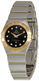 Omega Constellation Brown Dial DIA Women's Watch 123.20.24.60.63.001