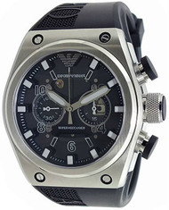 Emporio Armani AR4902 Super Meccanico Limited Black Chronograph Watch