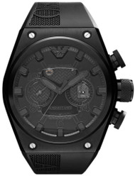 Emporio Armani AR4903 Super Meccanico Limited Black Chronograph Watch