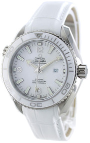 Omega 232.33.38.20.04.001 Seamaster 600M 37mm White Leather Men Watch