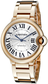 Cartier W69004Z2 Ballon Bleu 36mm 18k PinkGold Automatic Women's Watch