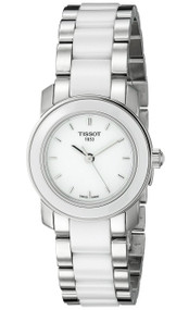 Tissot Cera TTrend White Ceramic White Dial Women Watch T0642102201100