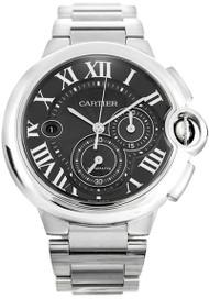 Cartier Ballon Bleu XL Chronograph Black Dial Auto Men Watch W6920025