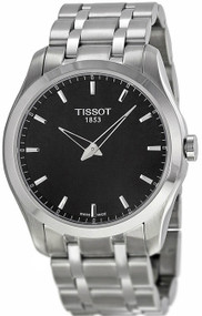 Tissot Couturier Grande Date Quartz Steel Men's Watch T0354461105100