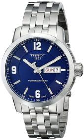 Tissot PRC 200 Powermatic 80 Blue Automatic Men's Watch T0554301104700