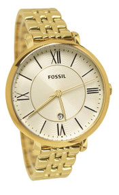 Fossil Jacqueline Gold-Toned Steel Women's Watch ES3434