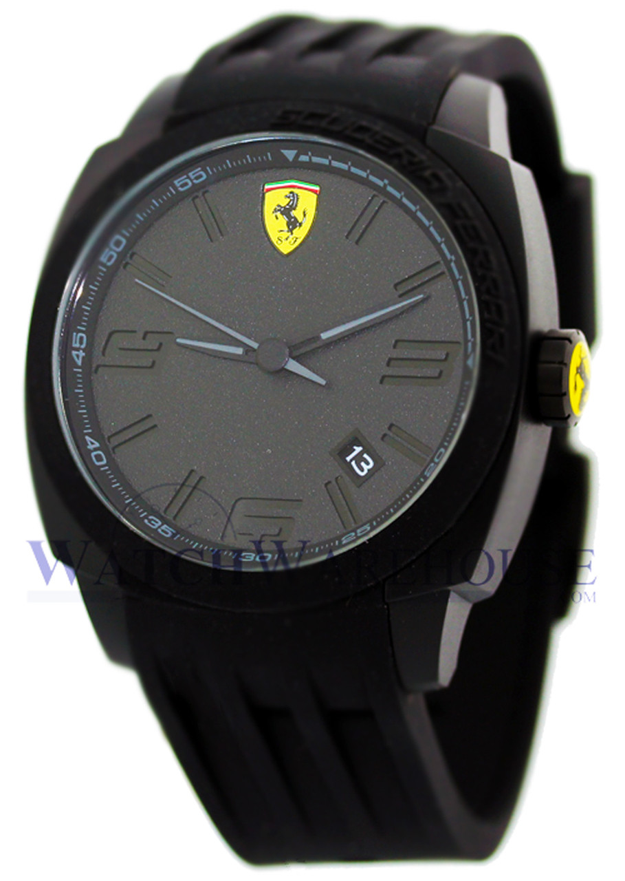 Scuderia Ferrari Aerodinamico 46 mm Men's Watch