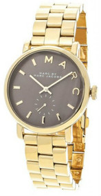 Marc by Marc Jacobs MBM3281 36mm Baker Gold-toned Gray Dial Watch