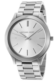 Michael Kors Slim Runway Silver Toned Steel Women's Watch MK3178