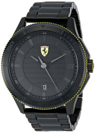 Ferrari Scuderia XX 0830141 Analog Date Display Quartz Black Watch