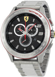 Ferrari Scuderia XX 830152 Chronograph Date Black Men's Gray Watch