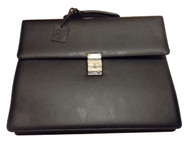 Montblanc 111117 Meisterstück Selection SNG Gusset Leather Briefcase