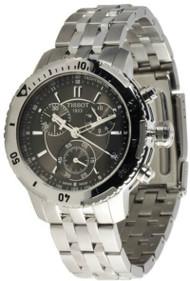 Tissot PRS 200 Chronograph Anthracite Dial Men's Watch T0674171105100