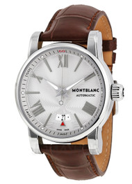 Montblanc Star 4810 Collection 102342 Automatic Men's Leather Watch