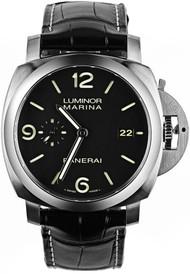 Panerai Luminor 1950 Marina Black Dial Automatic Men's Watch PAM00312
