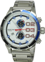 Diesel Franchise Analog Chronograph White Dial Date Men's Watch DZ4313