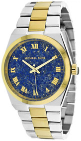 Michael Kors MK5893 Channing Blue Lapis Dial Women's Two Tone SS Watch