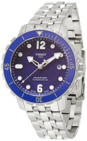 Tissot TSport Seastar 1000 Powermatic 80 Blue Men Watch T0664071104702