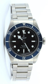 Tudor 79220B-95740BLK IND Heritage Black Bay Automatic Men Steel Watch