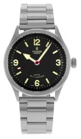 Tudor 79910-95760BLK ARAB Heritage Ranger Black Dial Men's Steel Watch