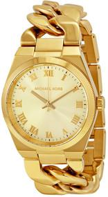 Michael Kors MK3393 Channing Gold-Tone Jewelry Inspired Women's Watch