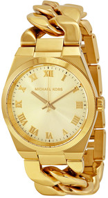 Michael Kors MK3393 Channing Gold-Tone Jewelry Inspired Women's Watch