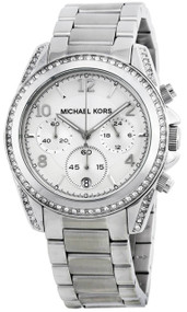 Michael Kors Blair Chronograph Stainless Steel Women's Watch MK5165