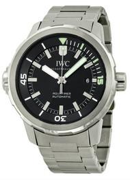 IWC Aquatimer Swiss Automatic Date Black Dial Steel Men Watch IW329002