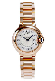Cartier Ballon Bleu 11 Diamonds 18KT Rose Gold Women's Watch WE902025