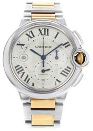 Cartier Ballon Bleu XL 44MM Chronograph Automatic Men's Watch W6920063