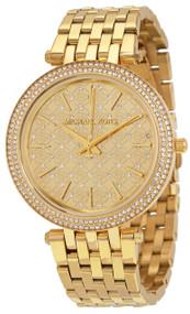 Michael Kors MK3398 Darci Crystal-paved Dial Gold-tone Women's Watch