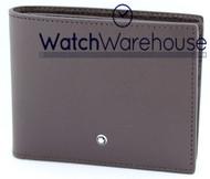 Montblanc 113216 Sartorial 6CC 11.5 x 9.2 CM Tobacco Leather Wallet