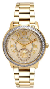 Michael Kors Madelyn MK6287 Glamorous Dial Women's Gold-Tone Watch