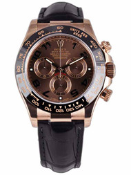Rolex Cosmograph Daytona Oyster Chocolate Mechanical Men Watch 116515