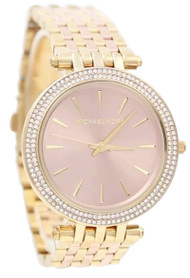 Michael Kors Darci Pink Dial MK3507 Women's Two Toned Steel Watch