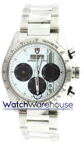 Tudor 42000-95730 SIL IND Fastrider Chronograph Silver Dial Men Watch