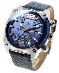 Diesel Overflow Timeframes AW 16 Chronograph Fabric Men's Watch DZ4374