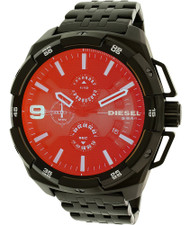 Diesel Heavyweight Chronograph Iridescent Black PVD Men's Watch DZ4395