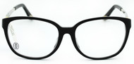 Cartier Trinity Black Composite Women's Optical Eyeglasses T8101215