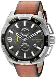 Diesel Heavyweight Chronograph Grey Dial Men's Quartz Watch DZ4393