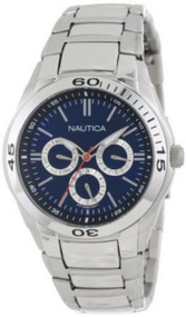 Nautica NAC 100 Classic Multifunction Steel Men's Watch N13620G
